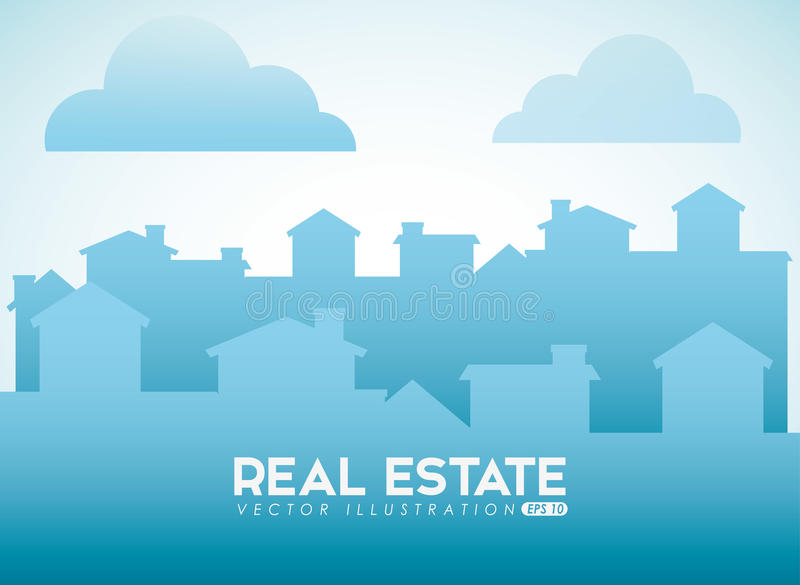 сбывание дома дома имущества конструкции реальное бесплатная иллюстрация