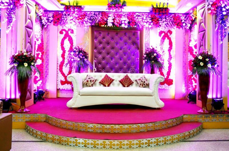 Свадьба, прием Этап стоковое изображение rf