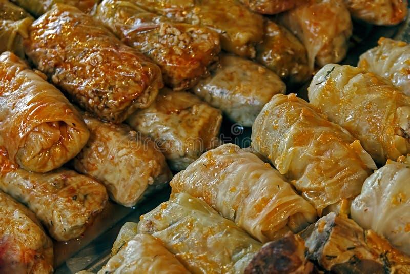 Сваренная капуста. Традиционная румынская еда. стоковая фотография rf