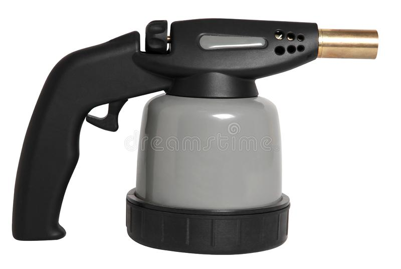 Сваривая факел дуновения изолированный на белой предпосылке стоковое изображение rf