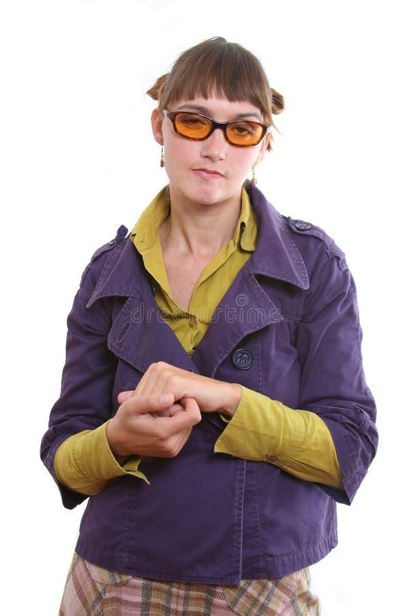 сварливая женщина стоковое фото rf