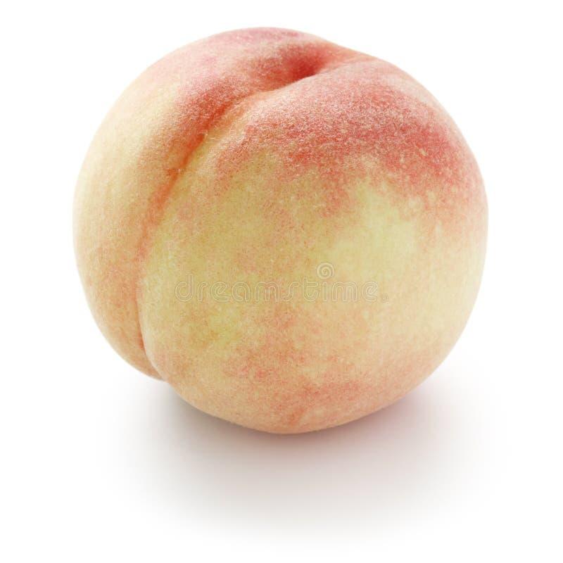 свежая белизна персика стоковая фотография rf