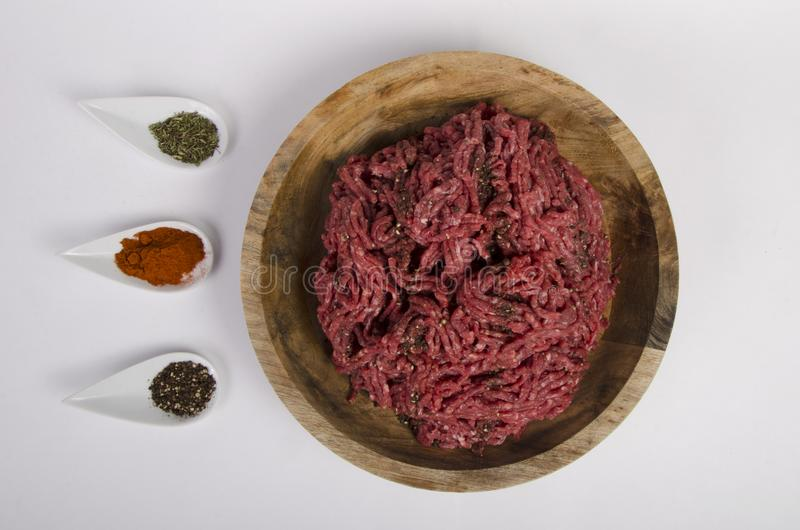 Свежая встреча - стиль еды - стоковые изображения rf