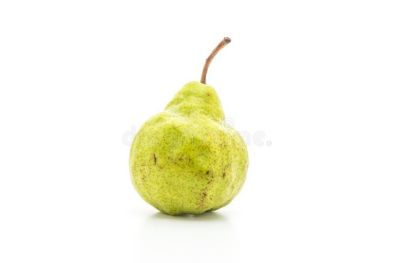 свежая груша на белой предпосылке стоковые фото