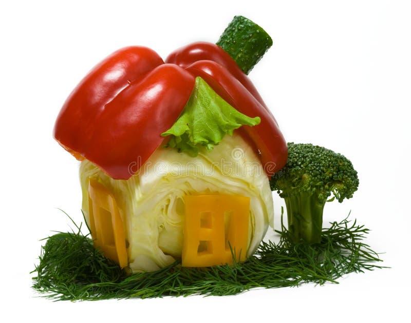 свежая дом сделала овощи стоковое изображение