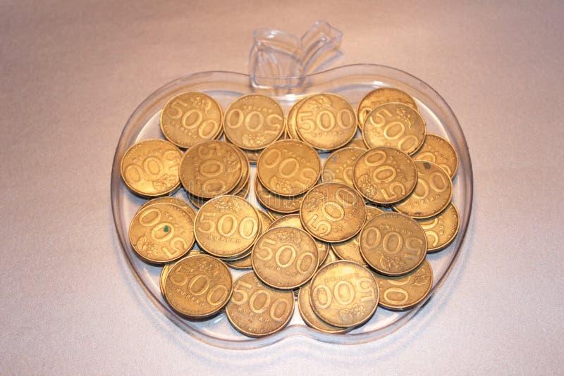 Свежая монетка Яблока стоковое фото