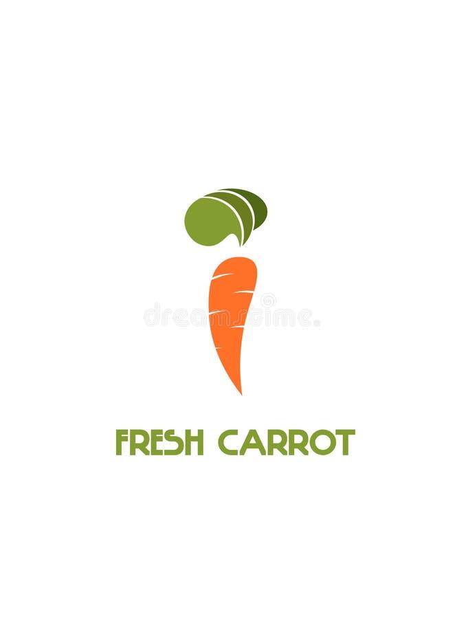 Свежая морковь на белой предпосылке стоковое фото rf