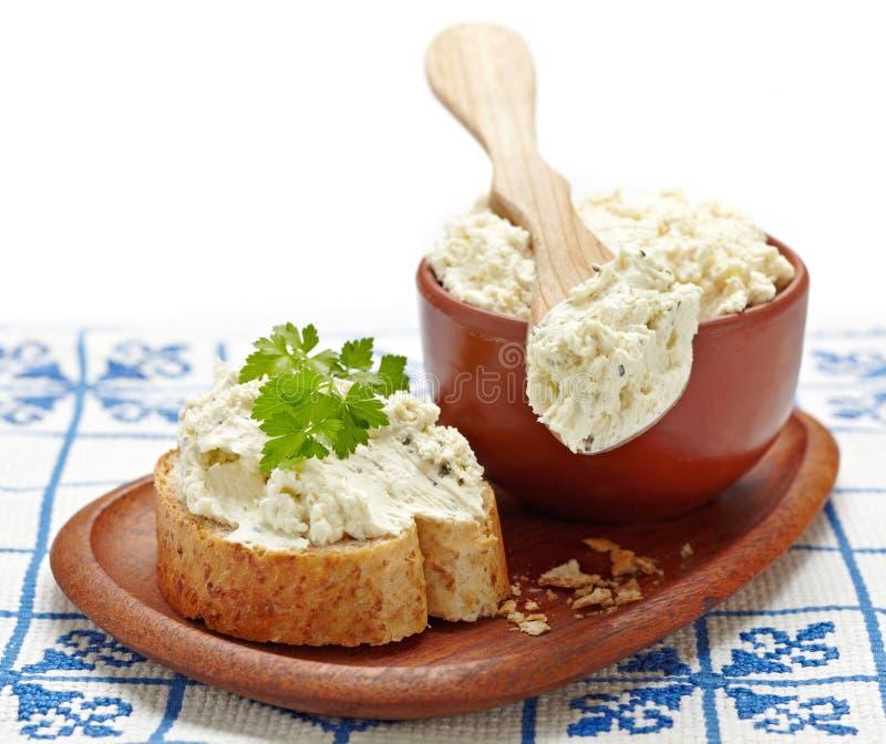 свежая сыра cream стоковые изображения rf