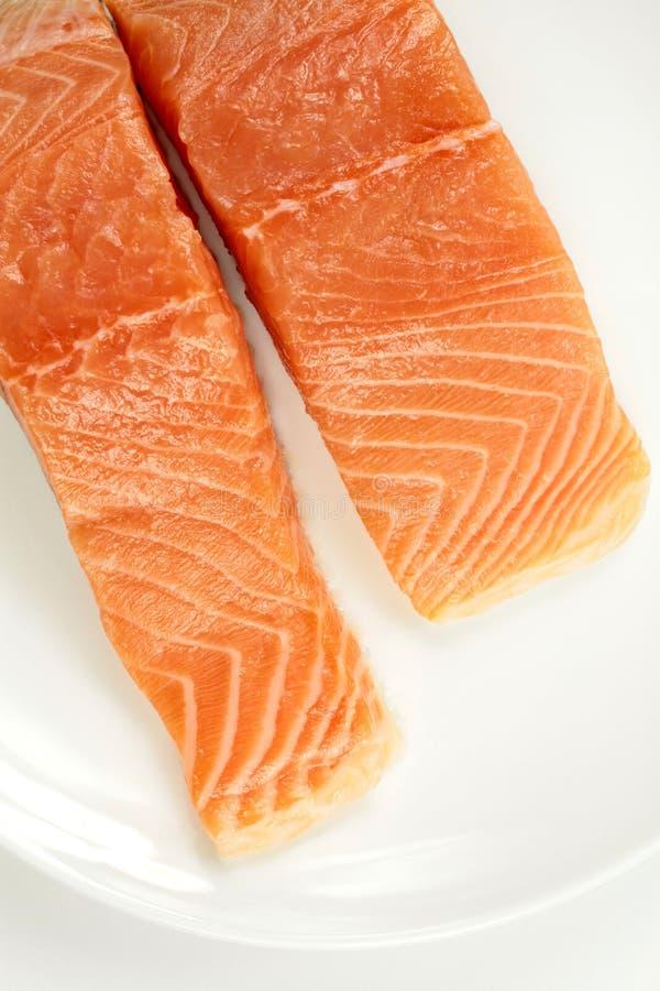 Свежая salmon выкружка стоковое изображение