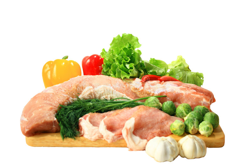 свежее мясо стоковое изображение rf