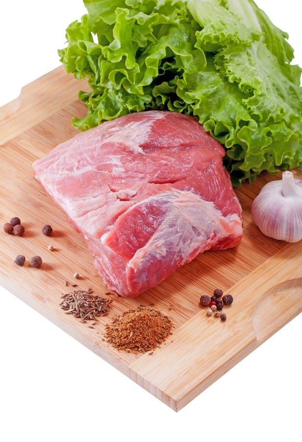 Свежее сырое мясо стоковое фото
