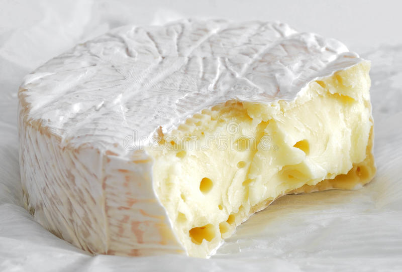 свежей сыр созретый нежностью стоковое изображение rf