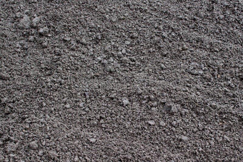 Свеже выкопанное и недавно осемененное аграрное поле стоковое фото rf