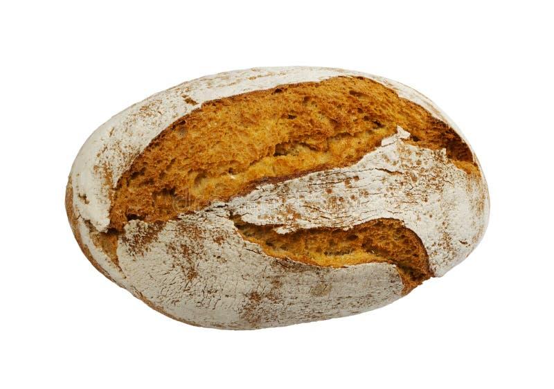 Свеже испеченный традиционный изолированный хлеб стоковые фото