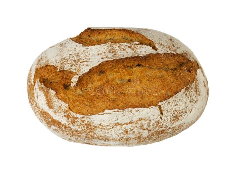 Свеже испеченный традиционный изолированный хлеб стоковые фотографии rf