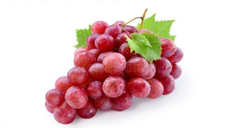 Свежие виноградины на белой предпосылке стоковое фото
