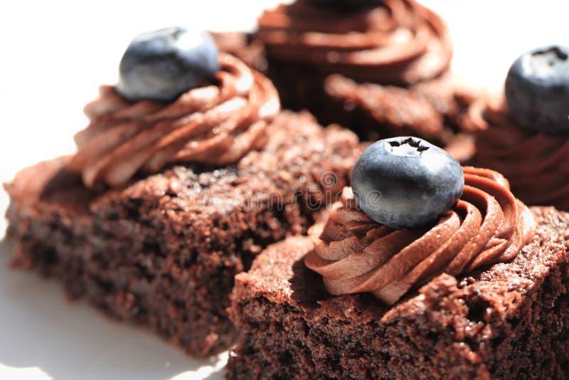 Свежие десерты шоколада стоковое фото