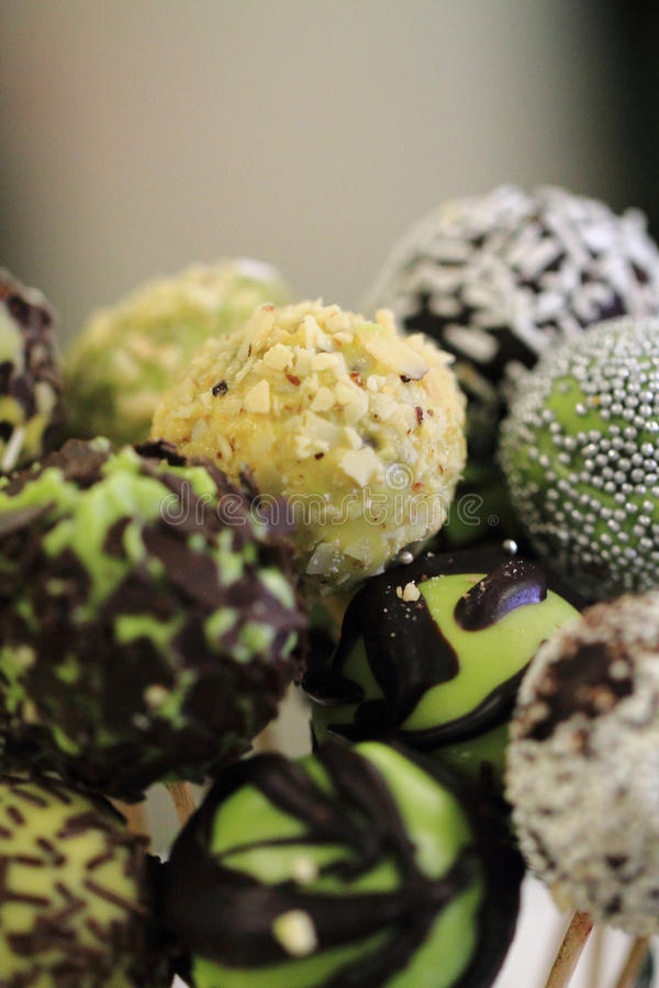 Свежие десерты шоколада стоковые изображения