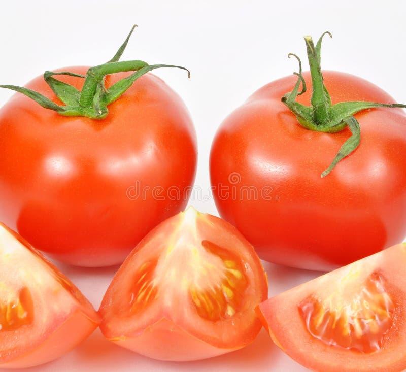свежие изолированные томаты стоковые фотографии rf