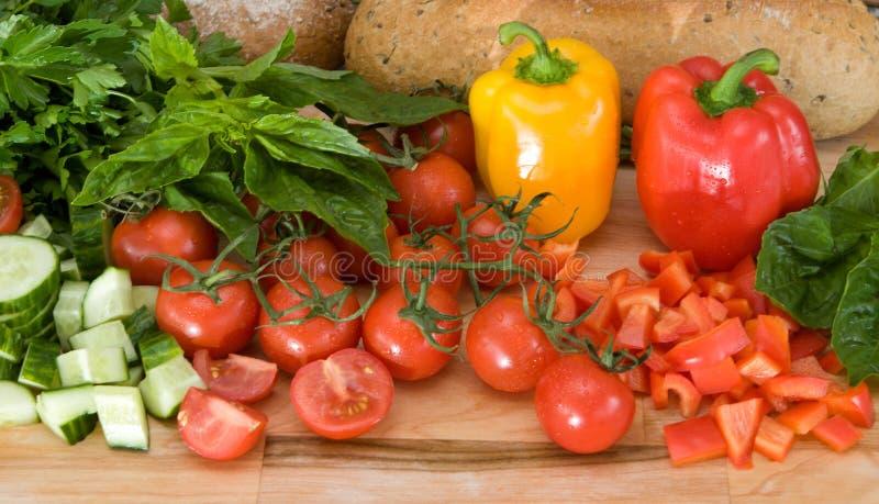 свежие итальянские овощи стоковые изображения rf