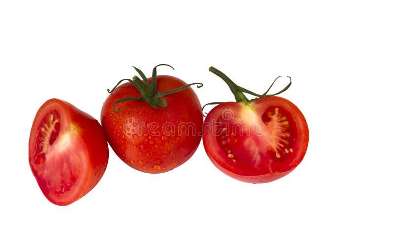 свежие красные томаты стоковое изображение