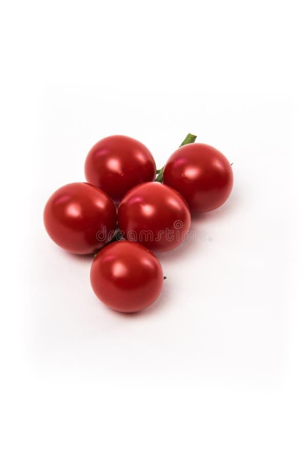 Свежие красные томаты chery стоковая фотография