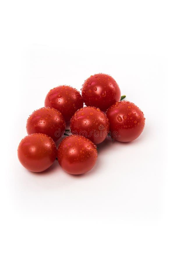 Свежие красные томаты chery стоковые изображения