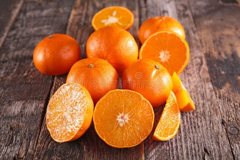 Свежие Клементин или апельсин стоковое изображение