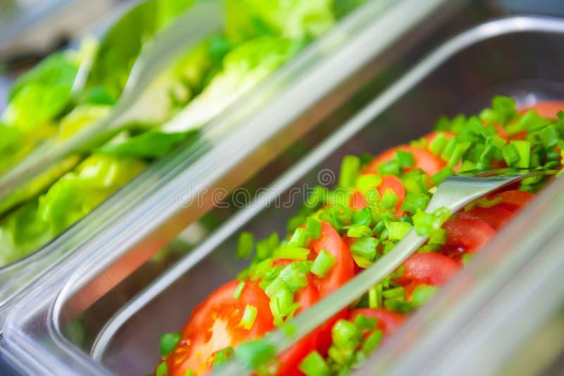 Свежие овощи для завтрака стоковое изображение
