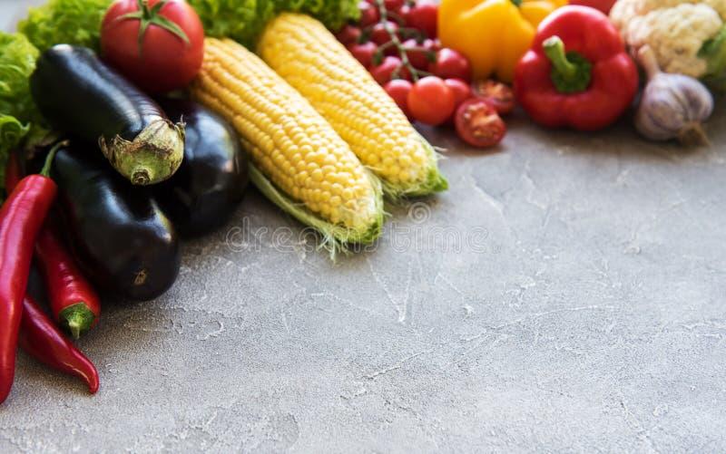 Свежие овощи лета стоковые изображения