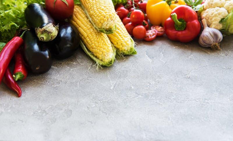 Свежие овощи лета стоковое изображение