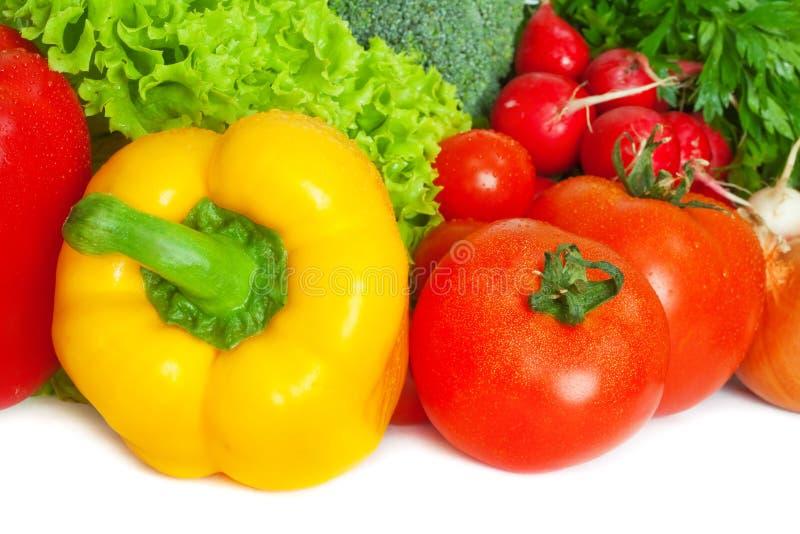 свежие овощи смешивания стоковое фото rf