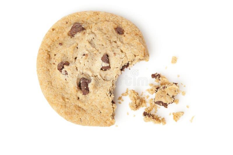 Свежие печенья обломока шоколада стоковые изображения rf