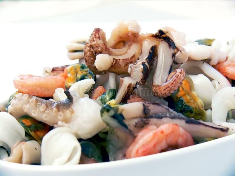 свежие продукты моря стоковое изображение rf