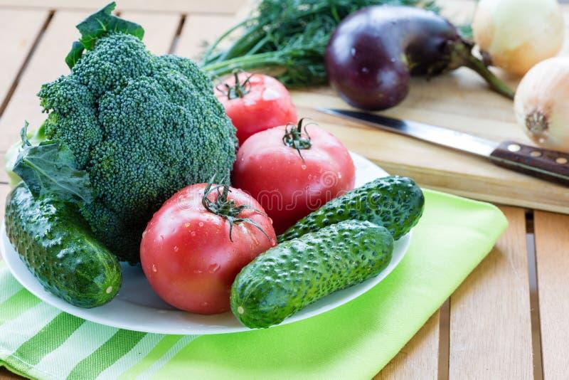 свежие сырцовые овощи стоковые фотографии rf