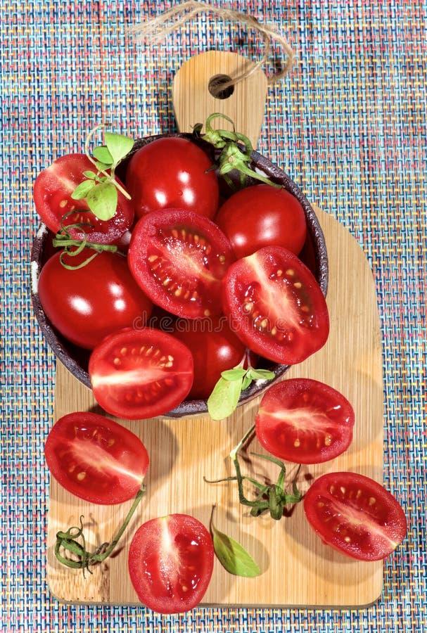 свежие томаты roma стоковые изображения