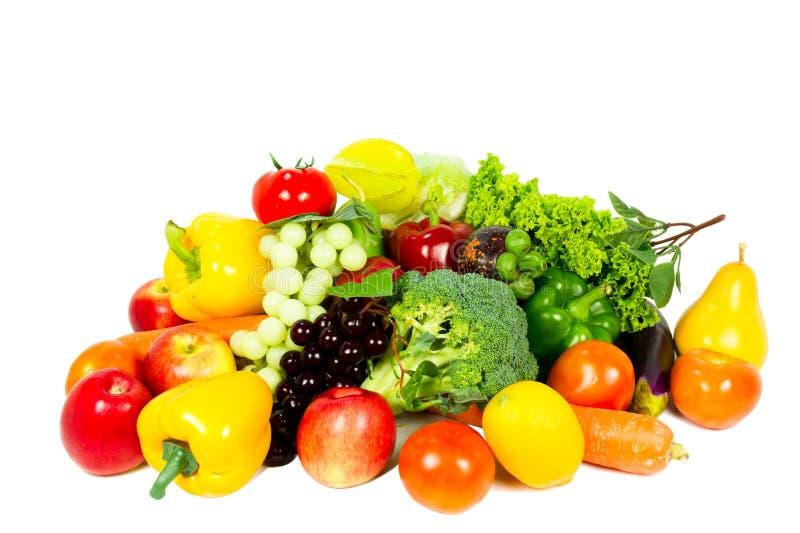 Свежие фрукты и овощи стоковое фото rf