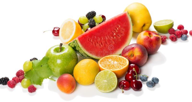 Свежие фрукты лета конец вверх стоковые фото