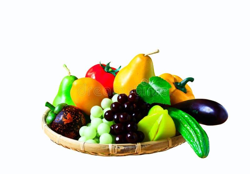Свежие фрукты - овощи стоковые изображения