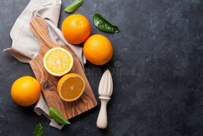 свежие фрукты померанцовые стоковые фотографии rf