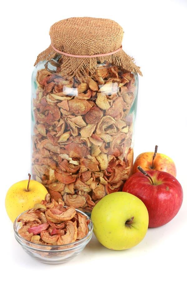 Свежие яблоки стоковые изображения