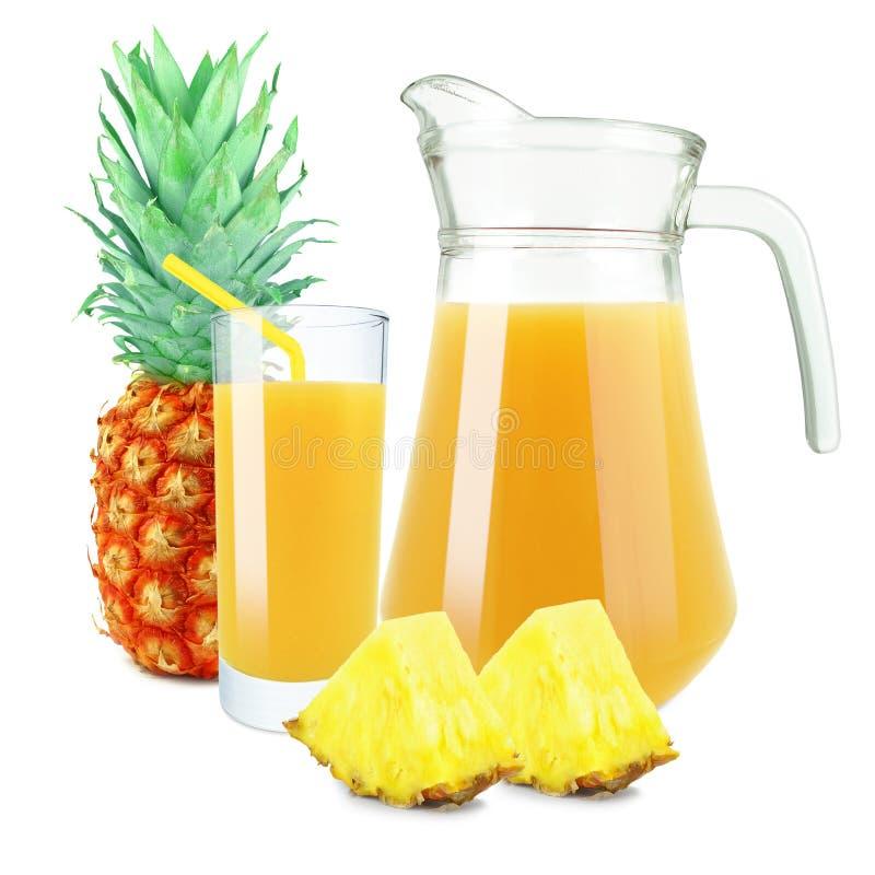 свежий ананас сока стоковая фотография rf