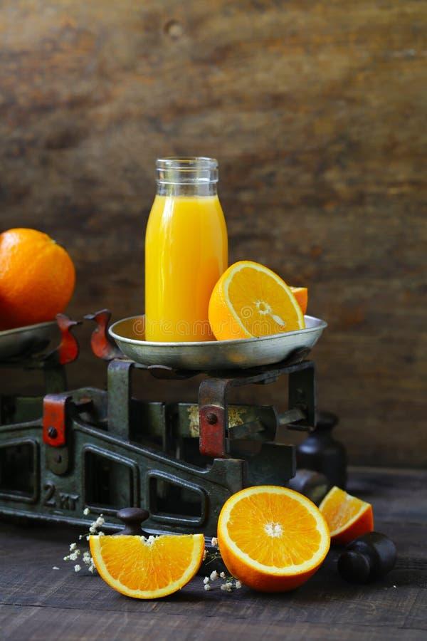 Свежий апельсиновый сок стоковое изображение