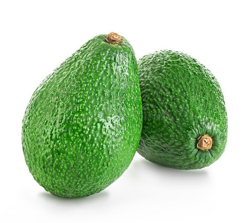 Свежий изолированный авокадо стоковые фото