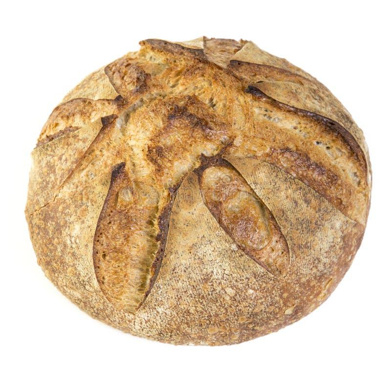 Свежий испеченный хлеец кислого хлеба теста стоковые изображения rf