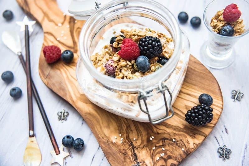 свежий и здоровый завтрак стоковая фотография rf