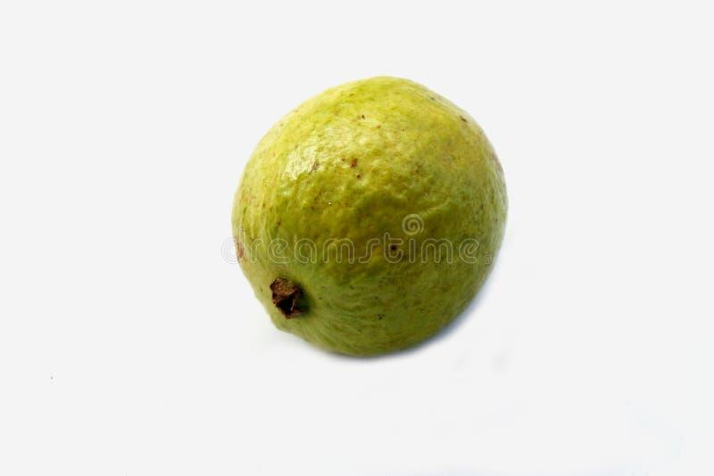 Свежий красный guava на белой предпосылке стоковое фото rf