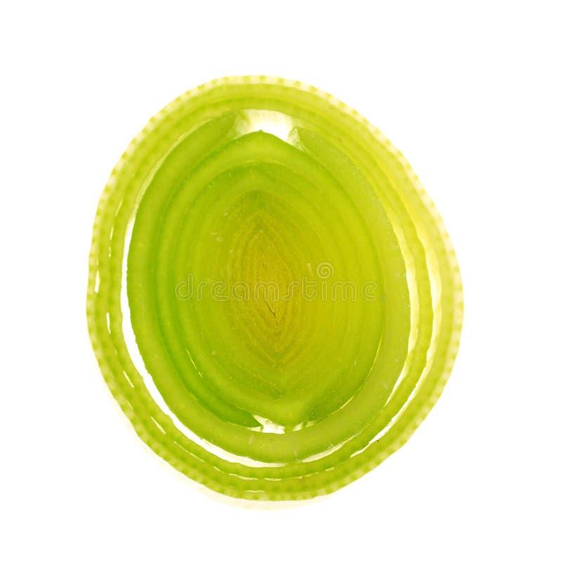 свежий лук-порей стоковое фото