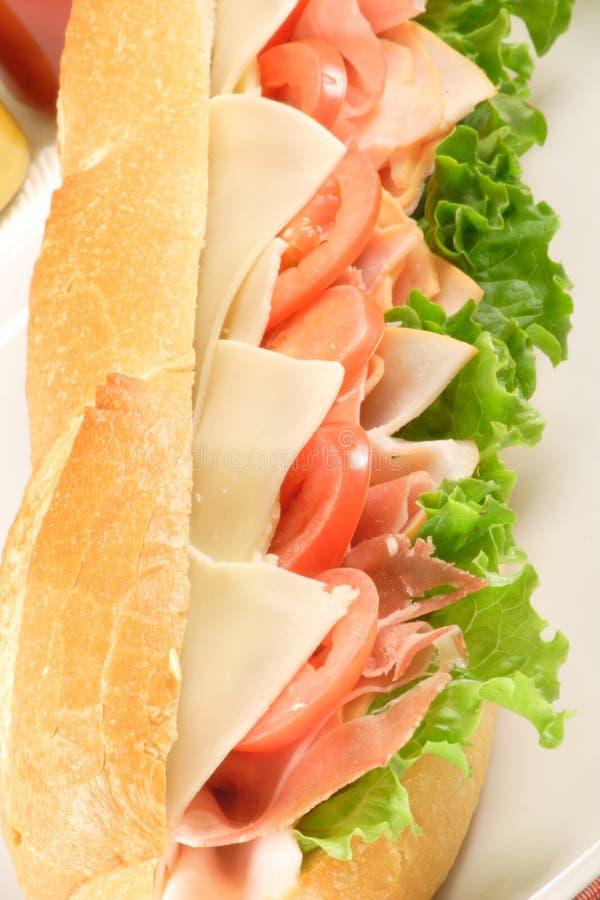 свежий огромный сандвич стоковые фото