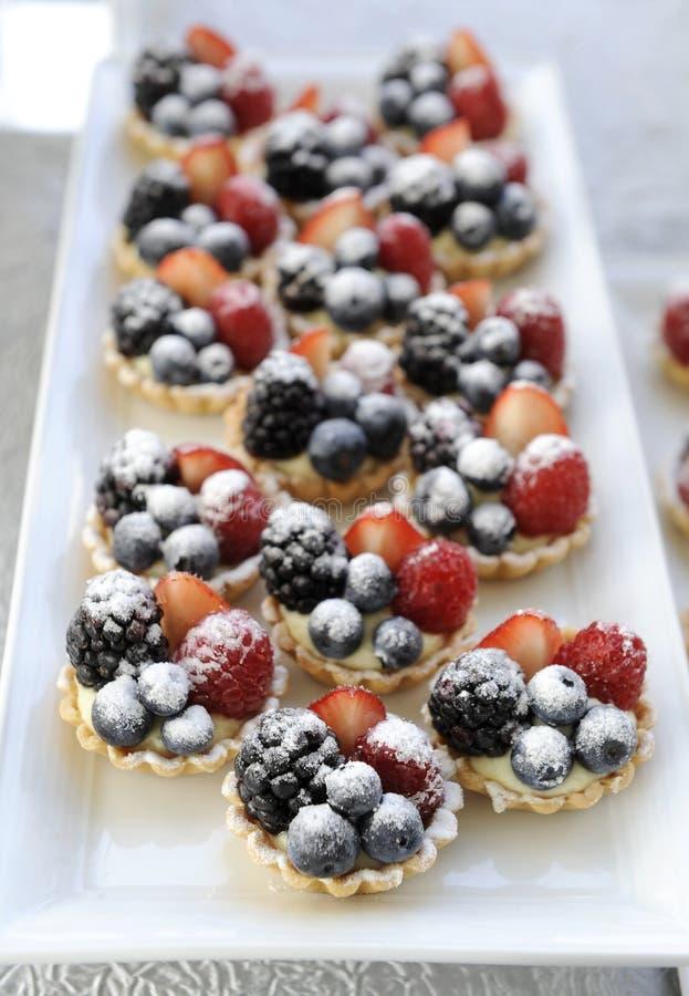Свежий домодельный пирог плодоовощ стоковые изображения rf